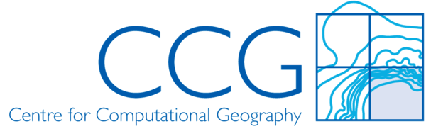 Logo: CCG, Centre for Computational Geography