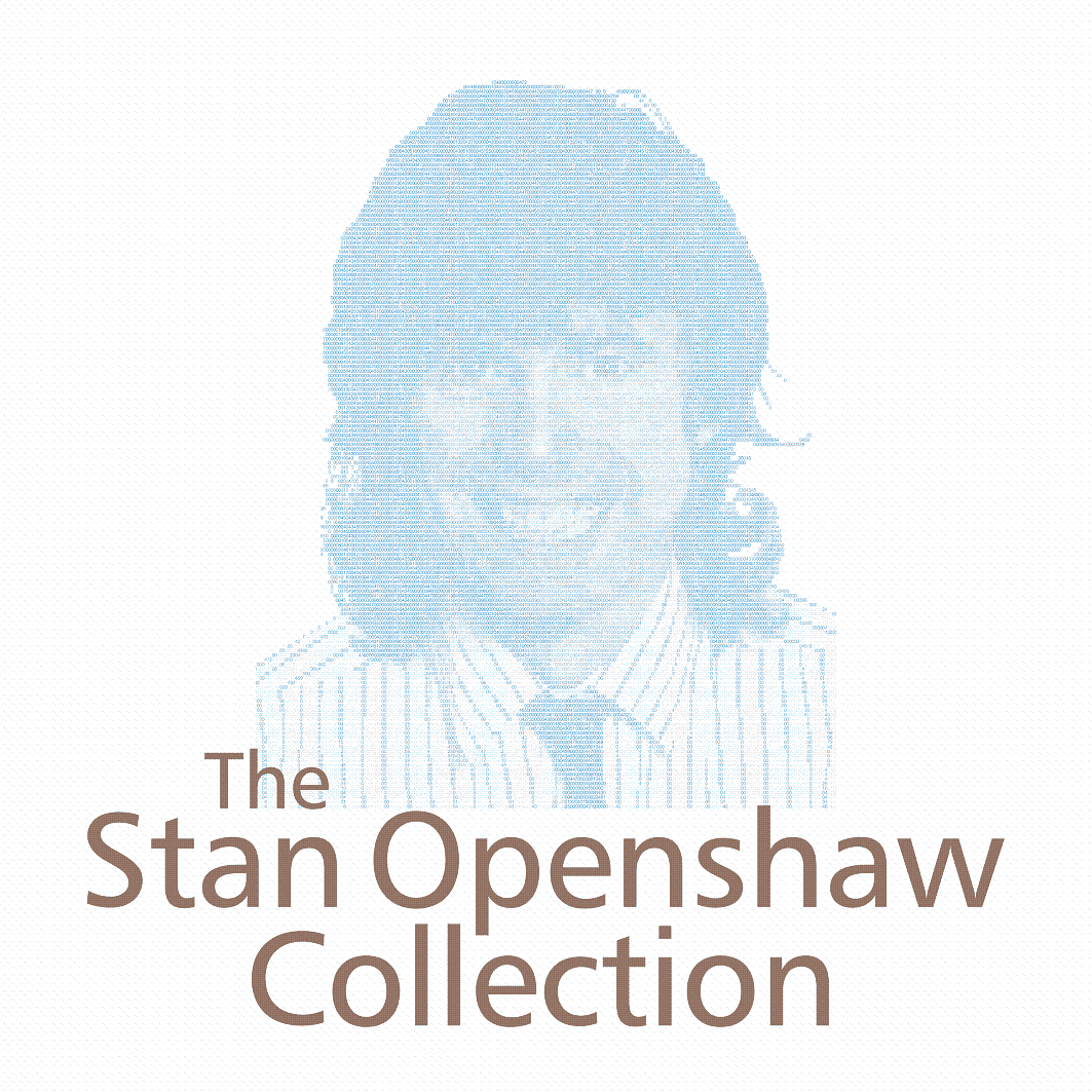 [Stan Openshaw's Collection Contents Page]